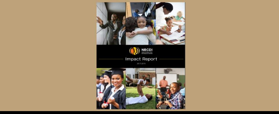 NBCDI Releases 2017-2019 Impact Report